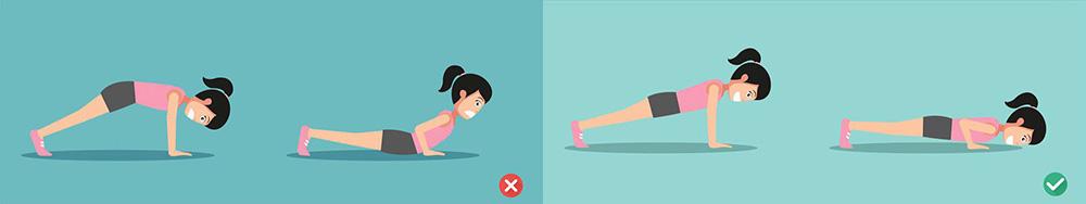 como fazer flexão corretamente