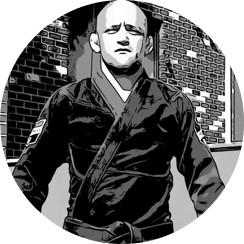 lutador de jiu-jitsu