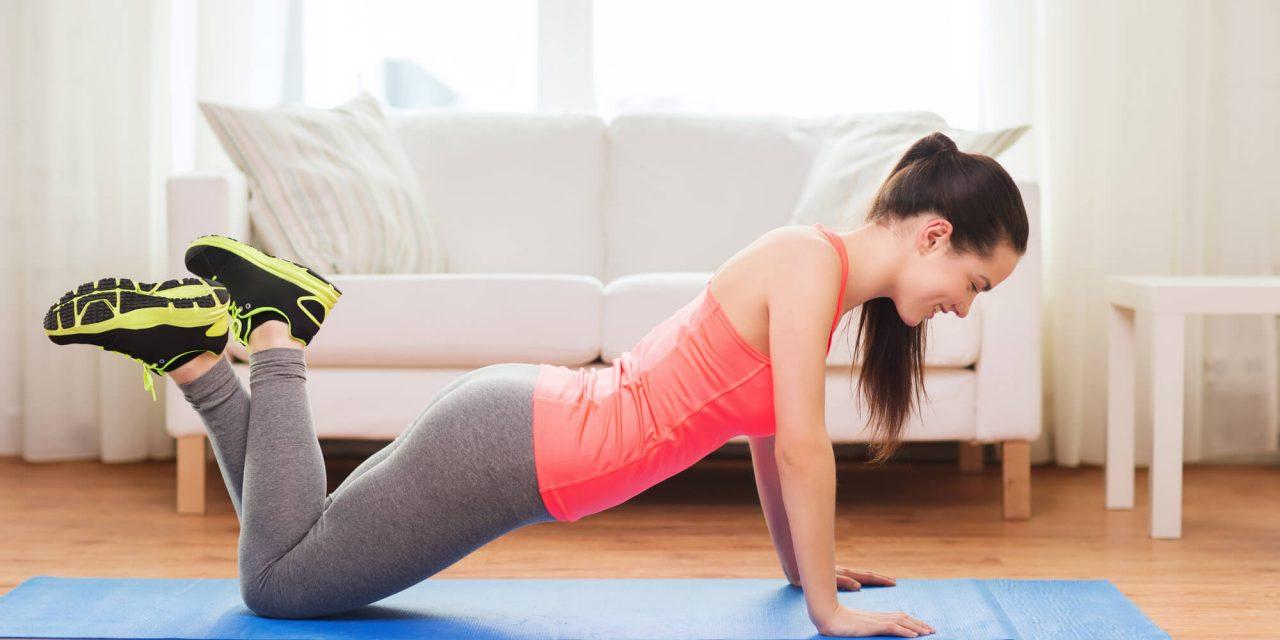 5 principais exercícios para perder peso em casa